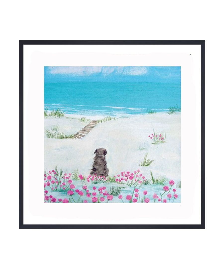 Image for Sea Pinks Art Print by Hannah Cole