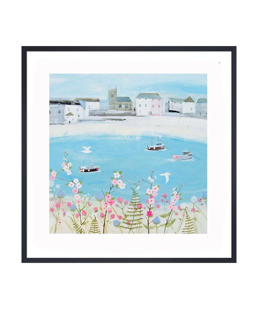 Image for Harbour Boats Art Print by Hannah Cole