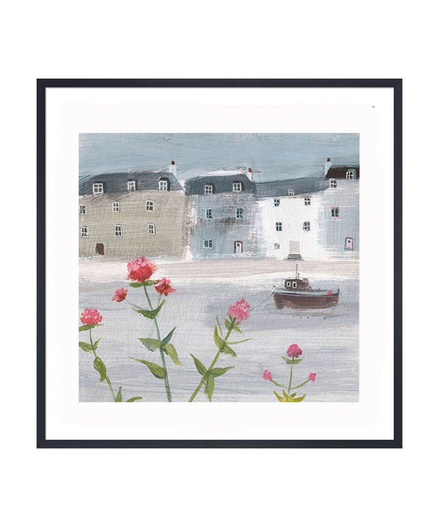 Image for Flowers on a Grey Day Art Print by Hannah Cole