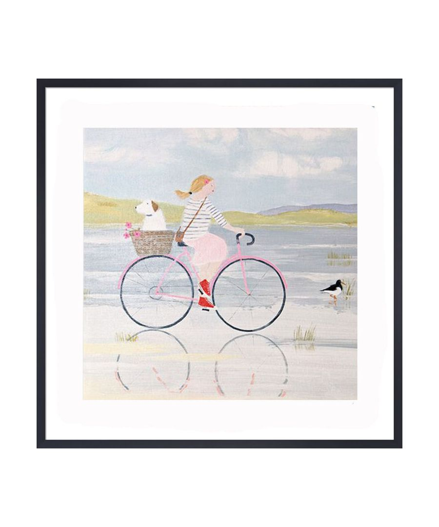 Image for Oyster Catchers Art Print by Hannah Cole