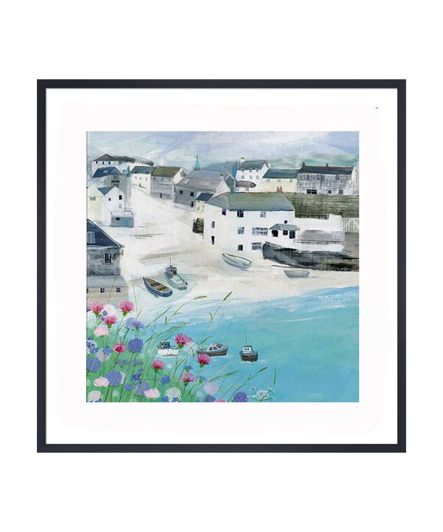 Image for Little Harbour Art Print by Hannah Cole