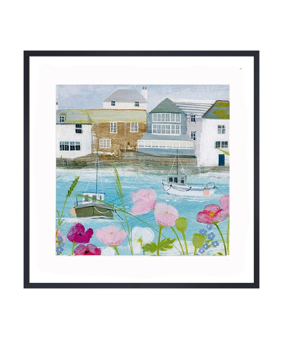 Image for Boats in the Harbour Art Print by Hannah Cole