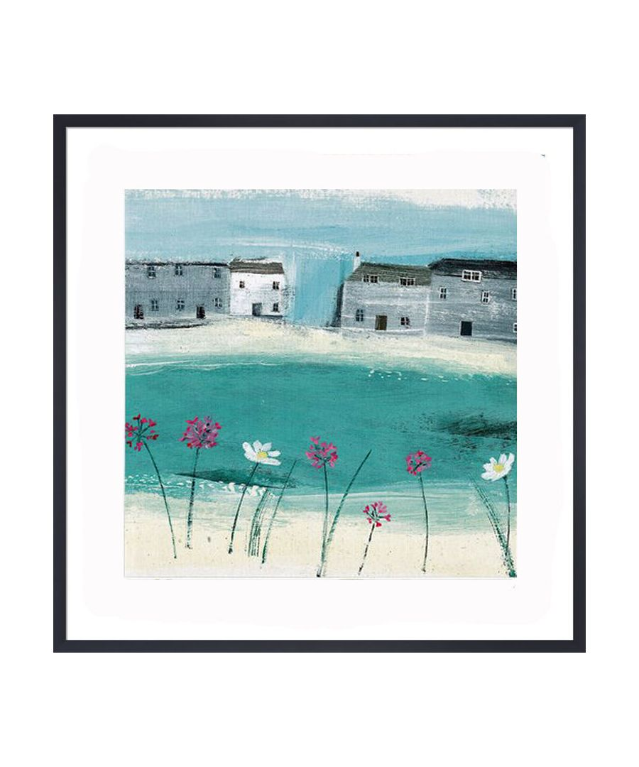 Image for Beach Flowers Art Print by Hannah Cole