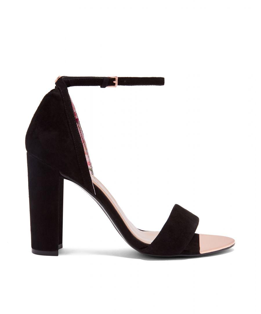 Image for Ted Baker Phanda Thin Strap Sandal, Black