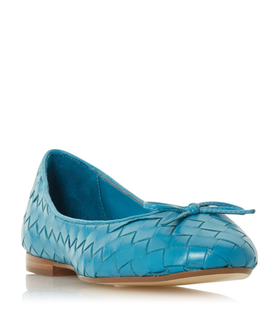 Image for Dune Ladies HEYDAY Woven Ballet Pump