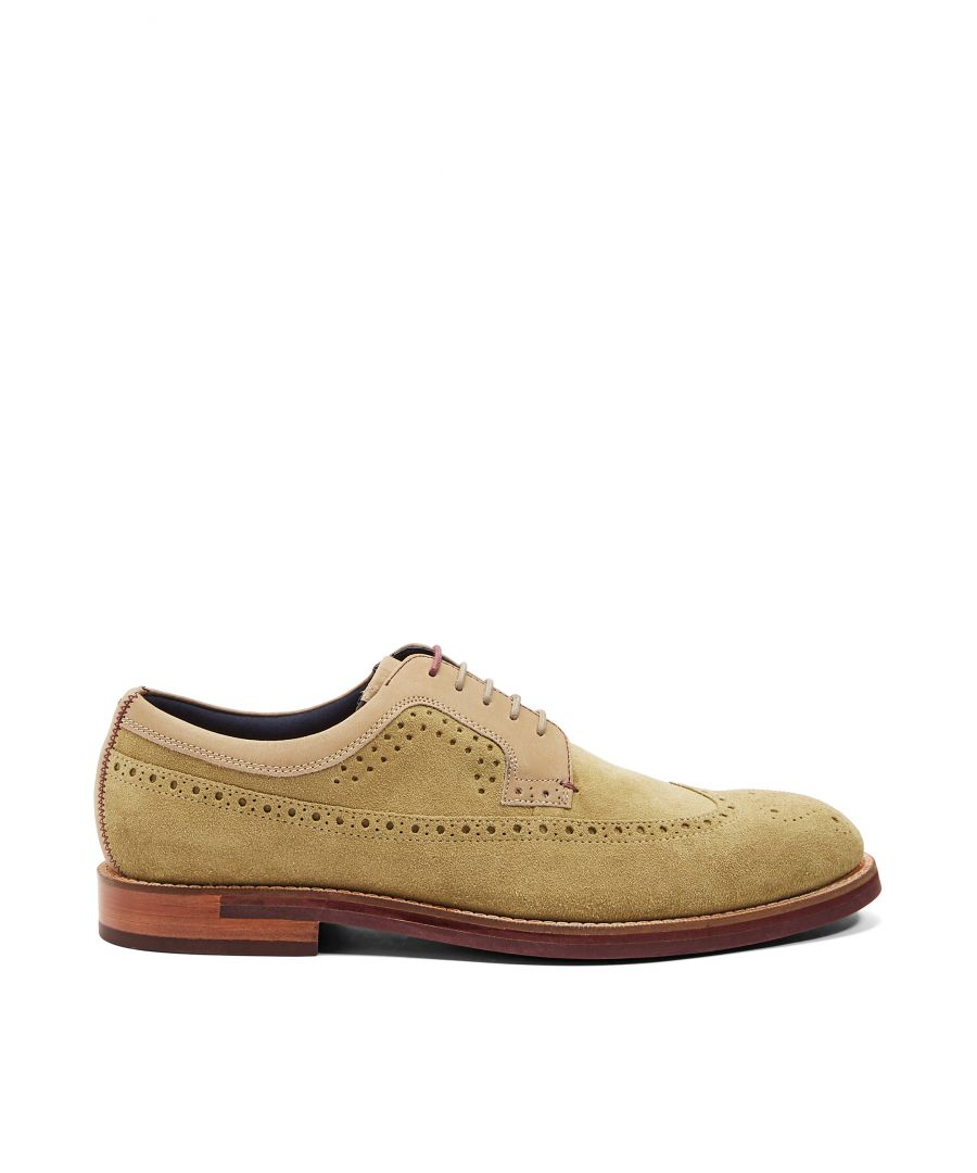 Image for Ted Baker Qiplin Classic Brogues, Yellow