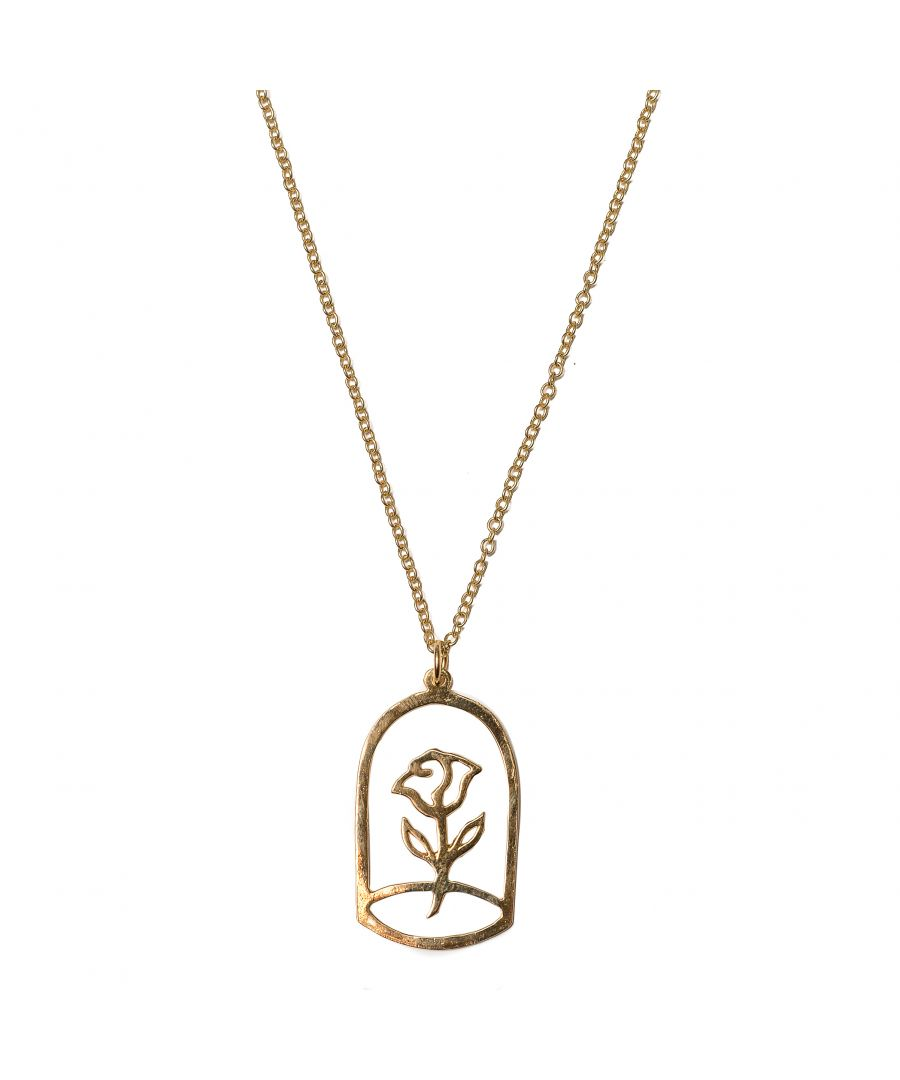 Image for Rose Of Prince Gold Pendant Necklace