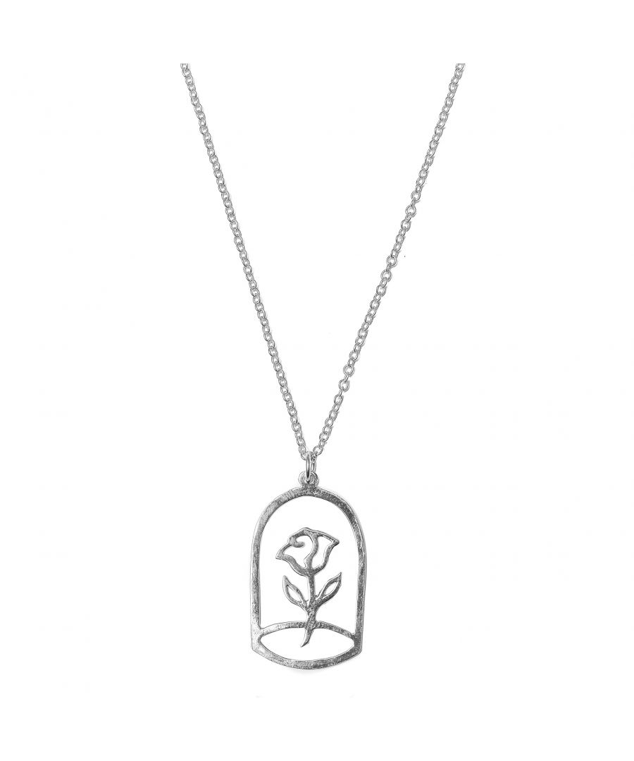 Image for Rose Of Prince Silver Pendant Necklace