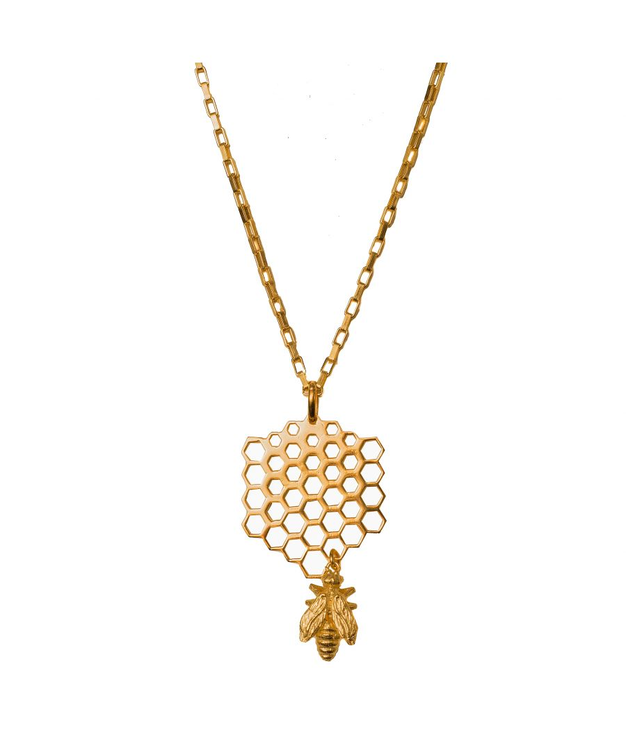 Image for Bee Necklace Gold