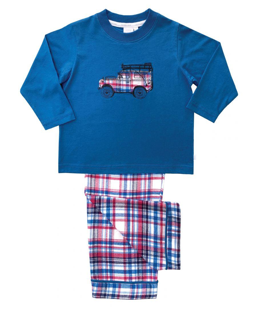 Image for Boys Safari Truck Pyjamas