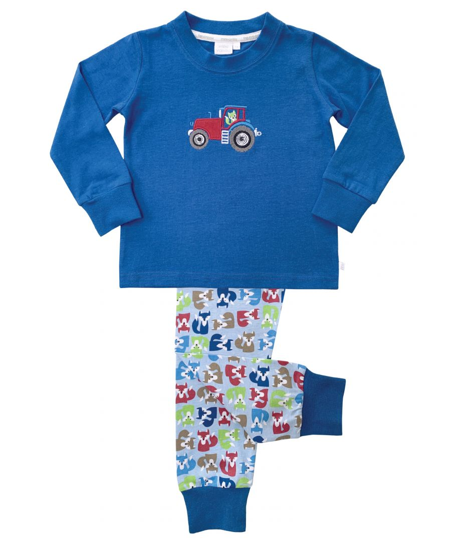 Image for Boys Foxes Skinny Fit Pyjamas