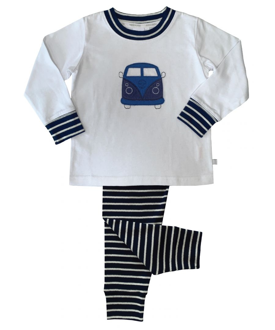 Image for Boys Campervan Skinny Fit Pyjamas