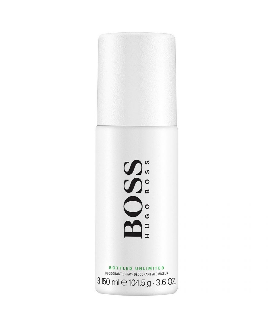 Image for Hugo Boss Bottled Unlimited Deodorant Spray 150Ml