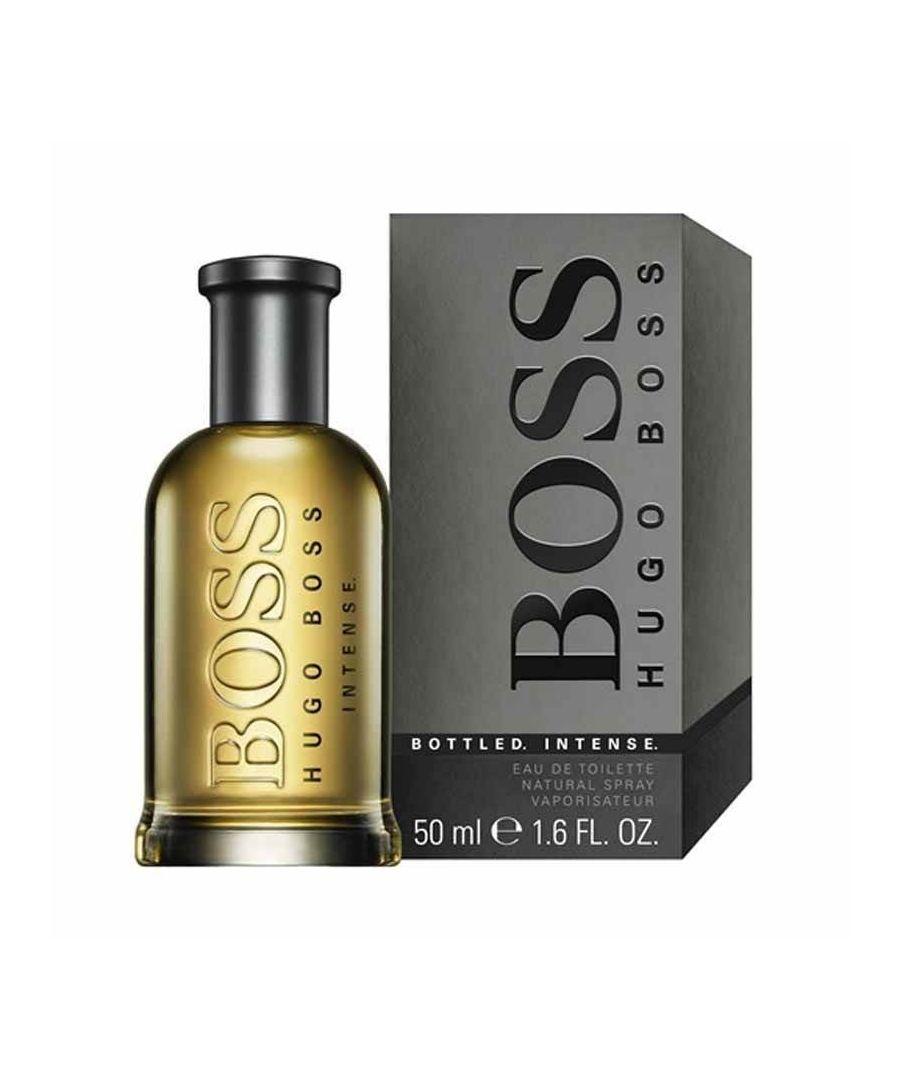 Image for Hugo Boss Bottled Intense Eau De Toilette Spray 50Ml