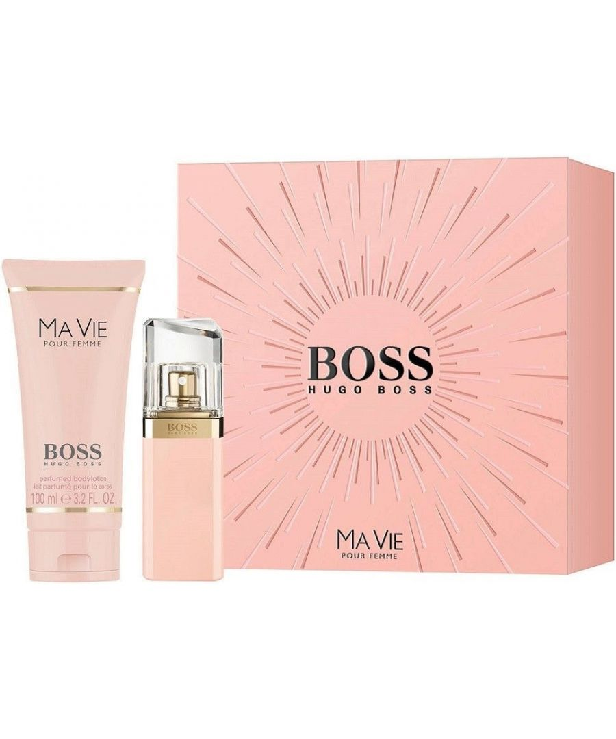 Image for Hugo Boss Ma Vie Gift Set Eau De Parfum Spray 30Ml + 100 ml body lotion
