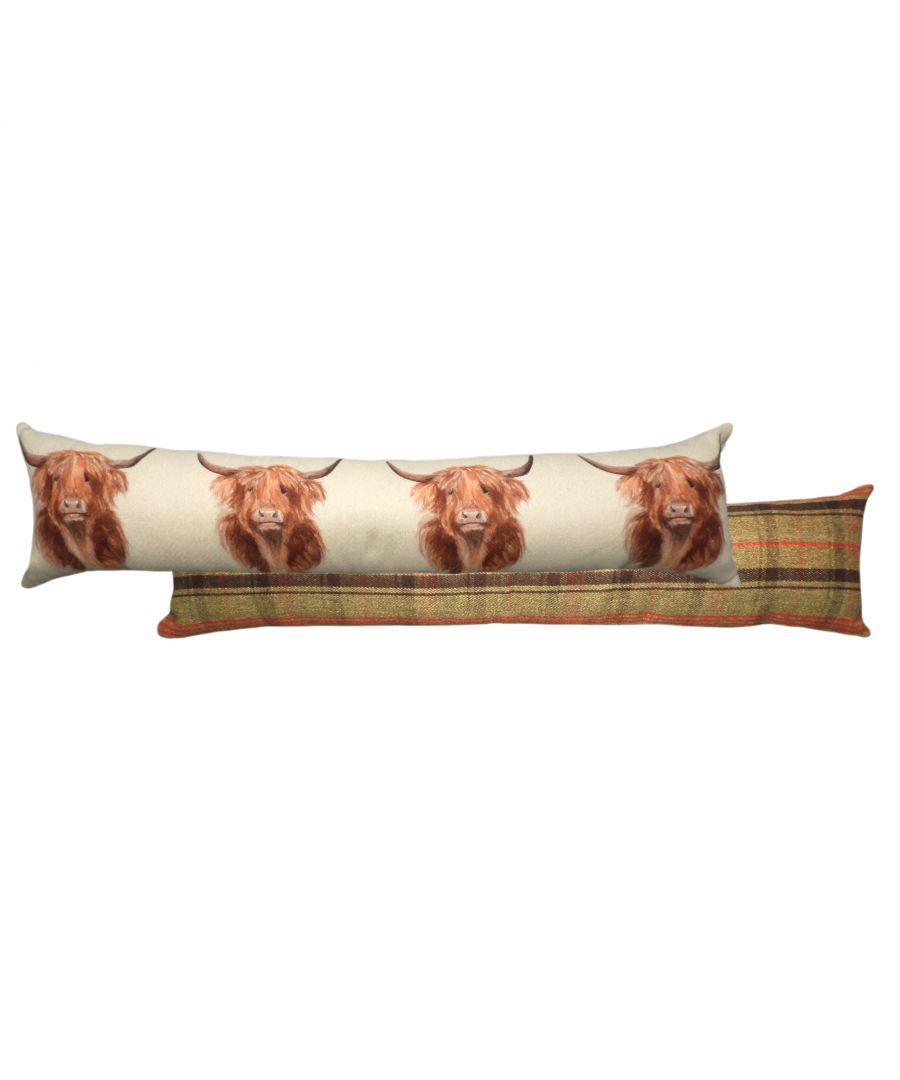 Image for Hunter Highland Cow Draught Excluder