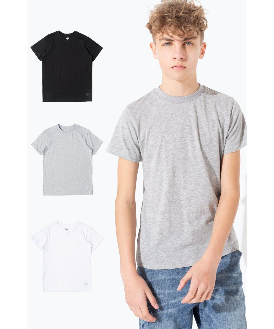 Image for Hype Three Pack Kids T-Shirt