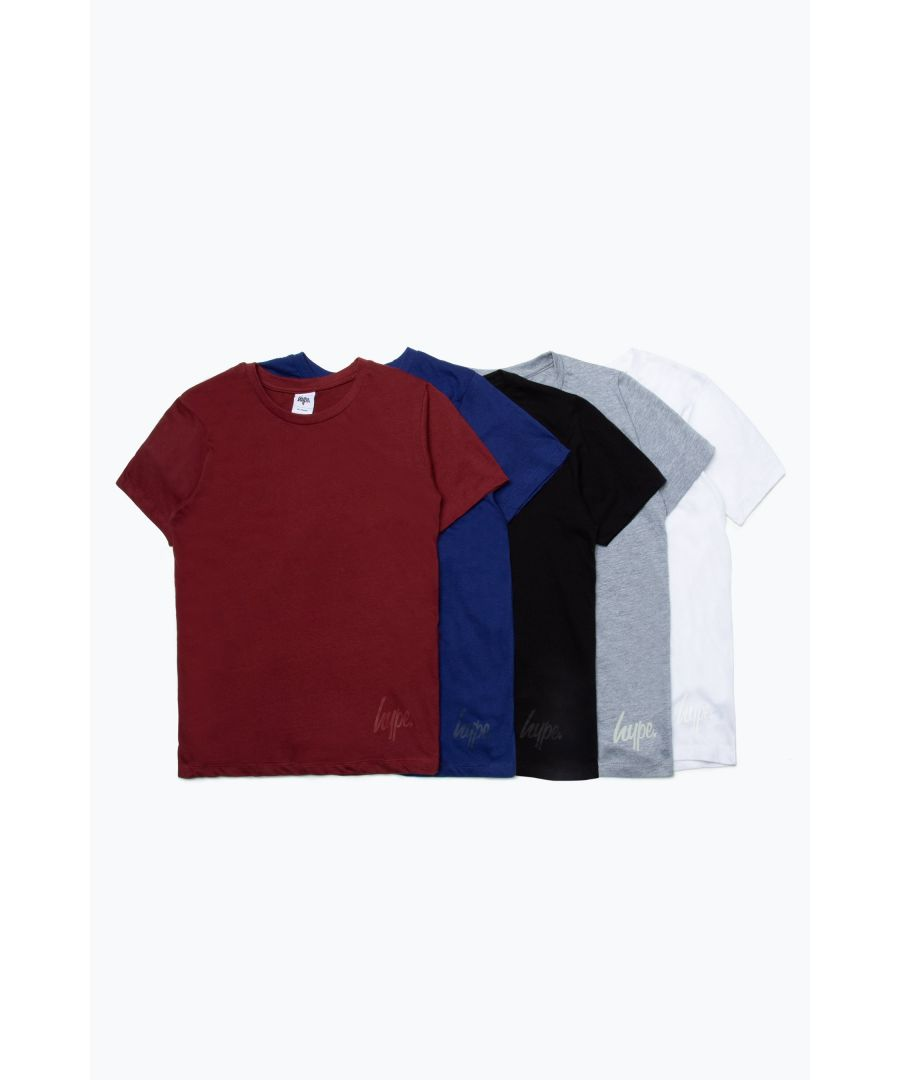 Image for Hype Five Pack Multi Colour Kids T-Shirts