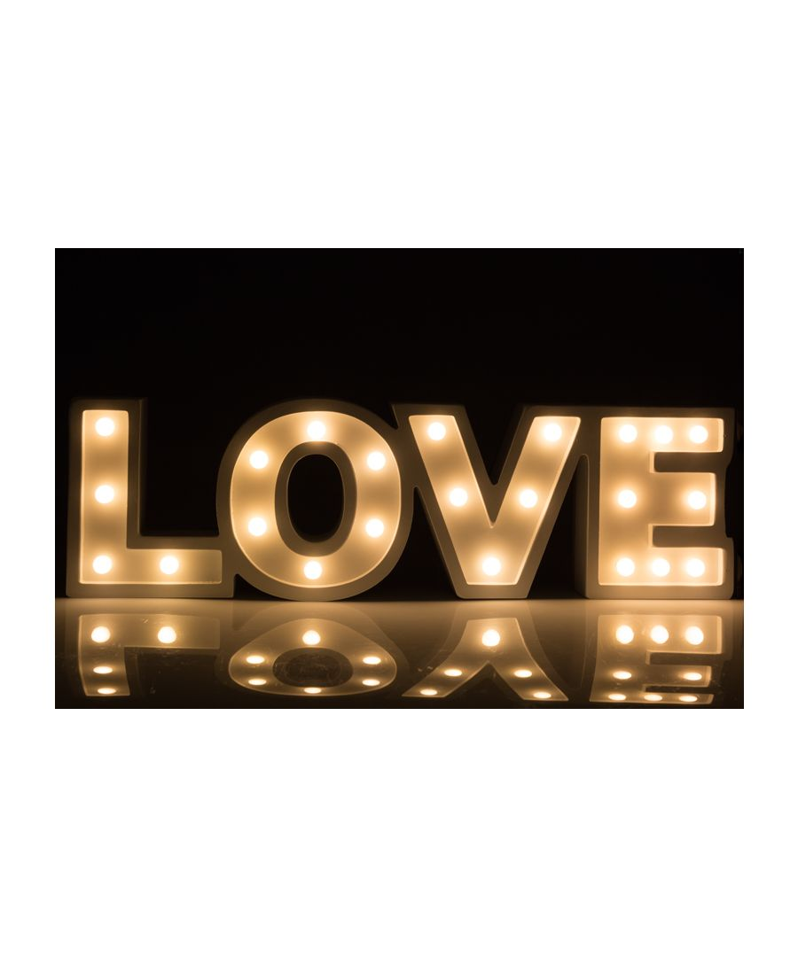 Image for Art Deco Decorative Light Love