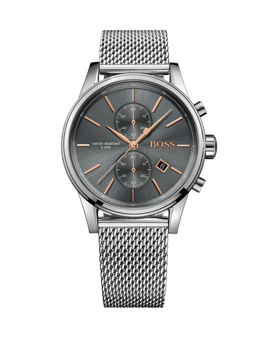 Image for Hugo Boss Mens' Jet Chronograph Watch 1513440