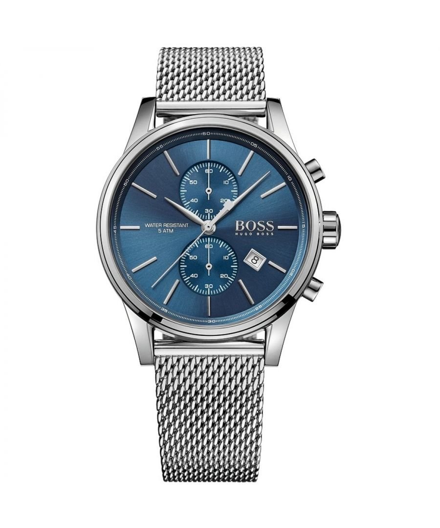 Image for Hugo Boss Mens' Jet Chronograph Watch 1513441