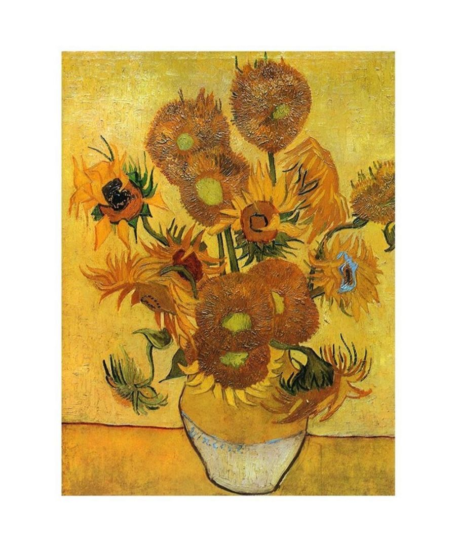 Image for Canvas Print - Sunflowers - Vincent Van Gogh Cm. 50x60