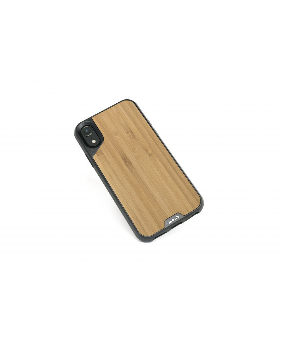 Image for Mous - Protective Case for iPhone XR - Limitless 2.0 - Bamboo - Screen Protector Included