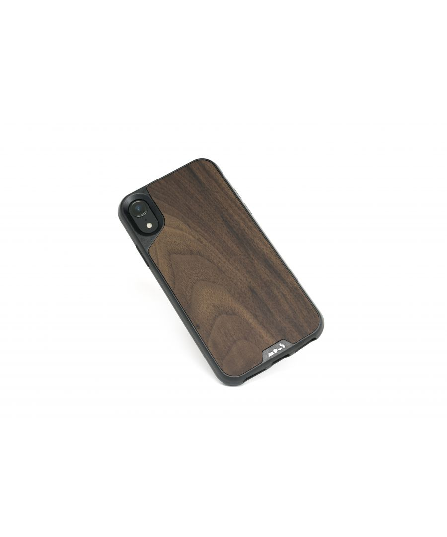 Image for Mous - Protective Case for iPhone XR - Limitless 2.0 - Walnut - Screen Protector Included
