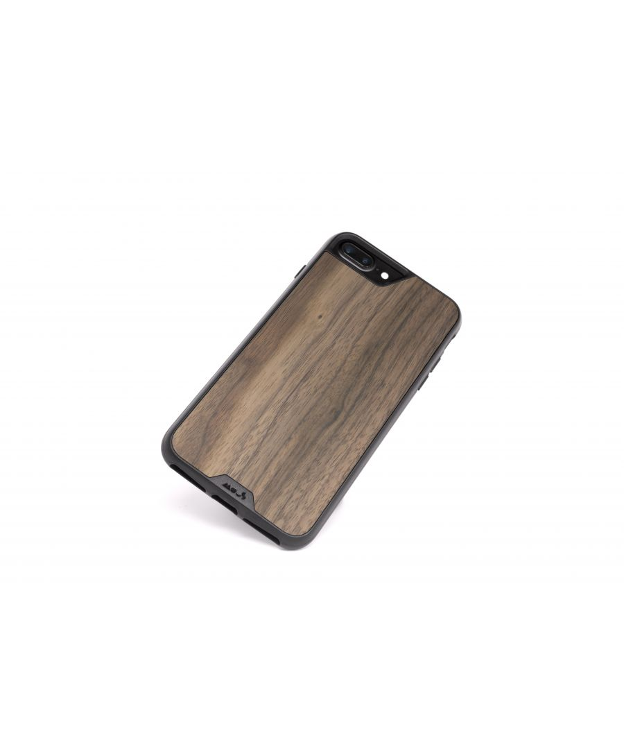 Image for Mous - Protective Case for iPhone 8+/7+/6S+/6+ Plus - Limitless 2.0 - Walnut - Screen Protector Included