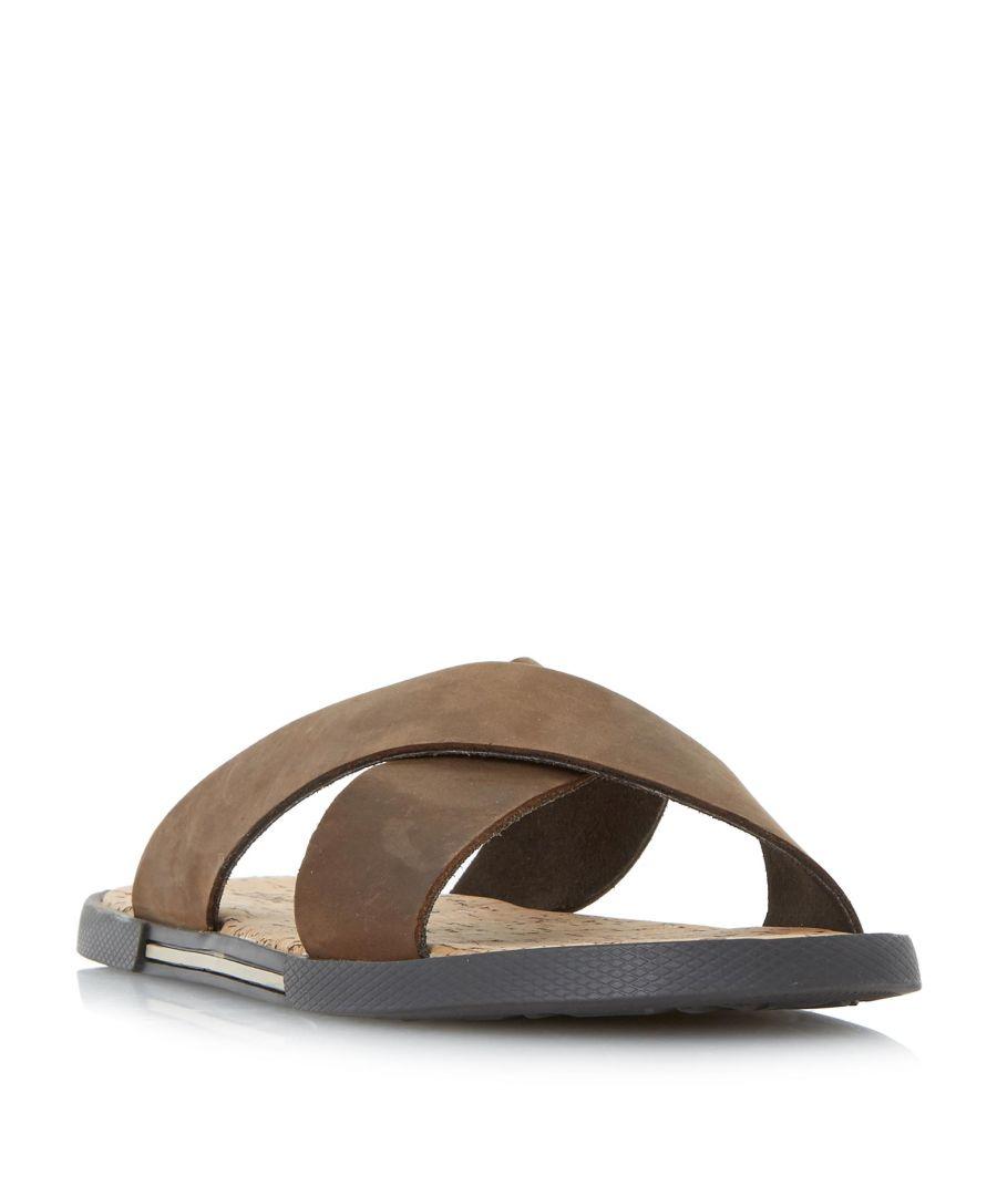 Image for Dune Mens IDAHO Cork Footbed Sandal