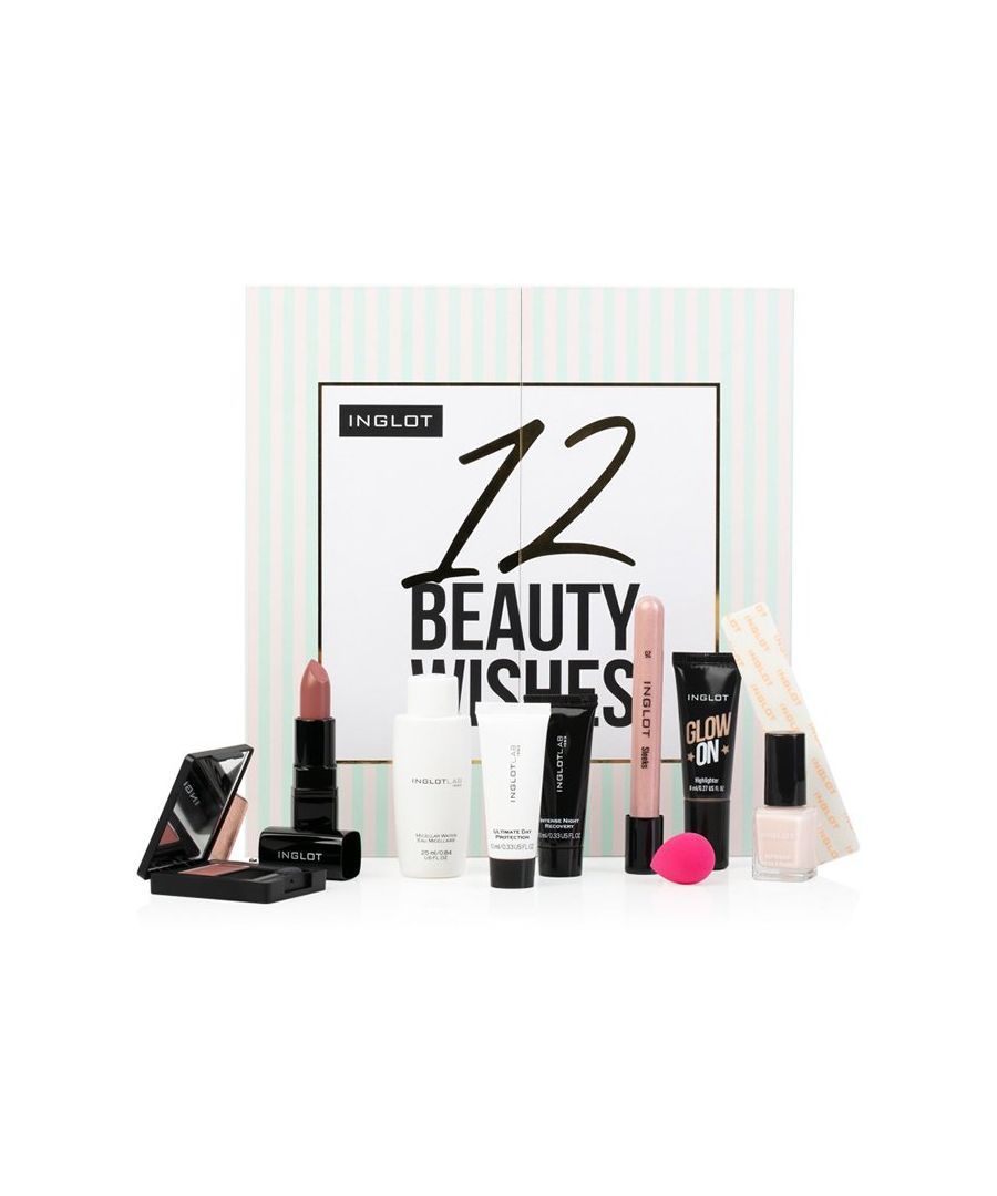 Image for Inglot Christmas Advent Calendar - 12 Beauty Wishes