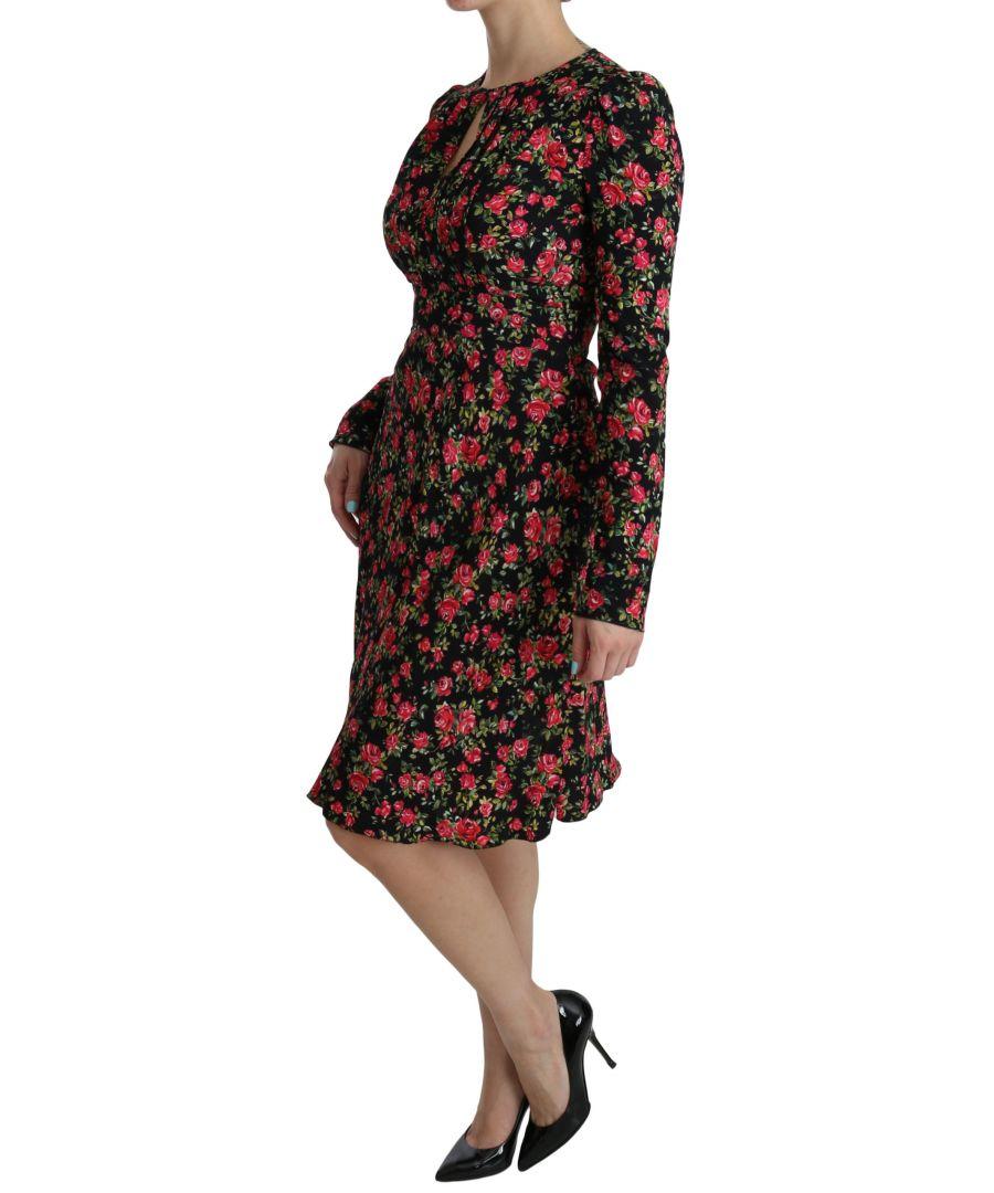 Image for Dolce & Gabbana Nylon Multicolor Majolica Toiletry Pouch Hand Purse Bag