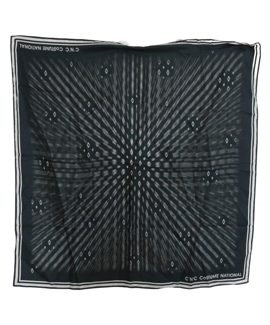 Image for Dolce & Gabbana Yellow Printed Tassel Silk Wrap Scarf