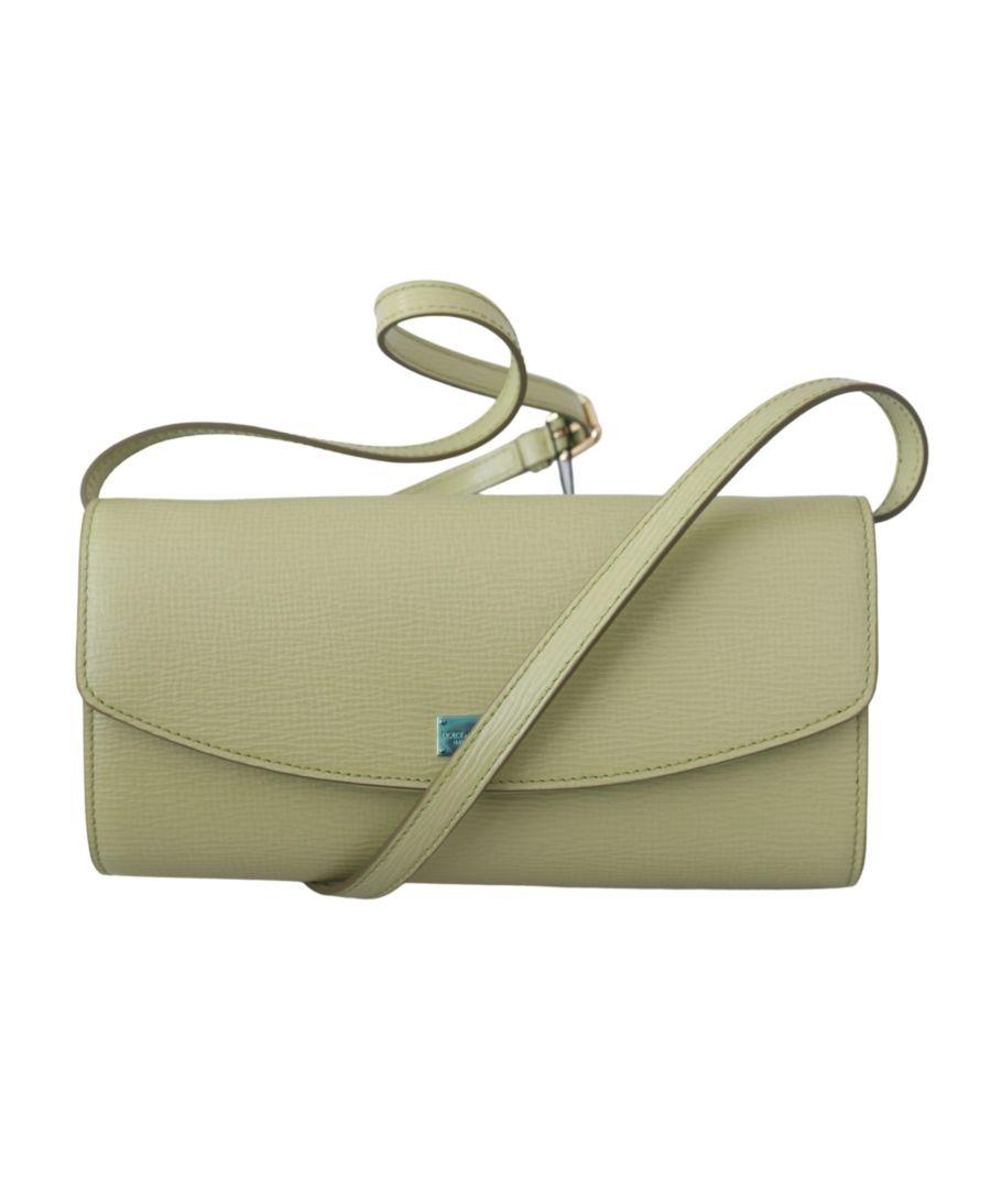Image for Dolce & Gabbana Beige Abend Lang Clutch Frauen Borse 100% Leder Tasche