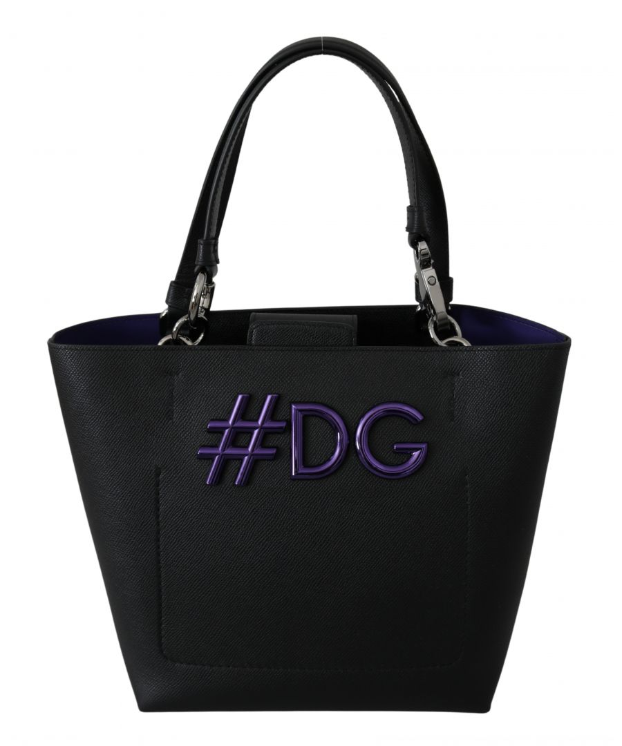 Image for Dolce & Gabbana Black Leather Hand Tote Shopping