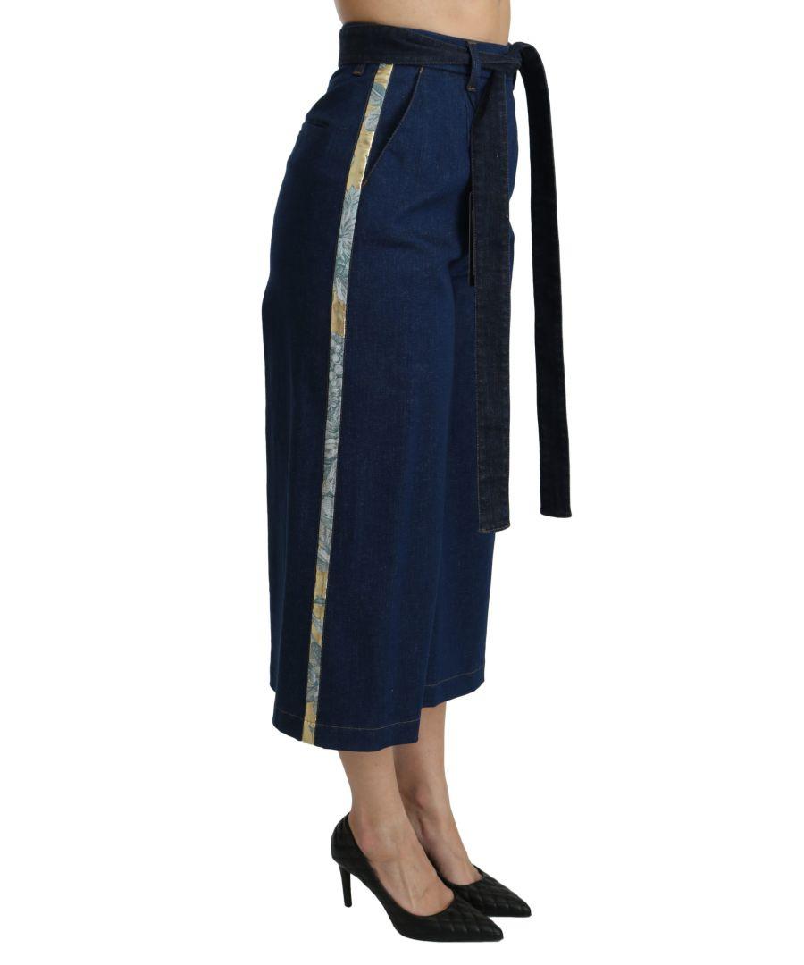 Image for Dolce & Gabbana Bikini Swimsuit Top Banana Leaf Beachweare