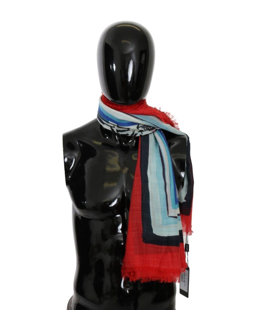 Image for Dolce & Gabbana Multicolor Duomo di Milano Cashmere Scarf