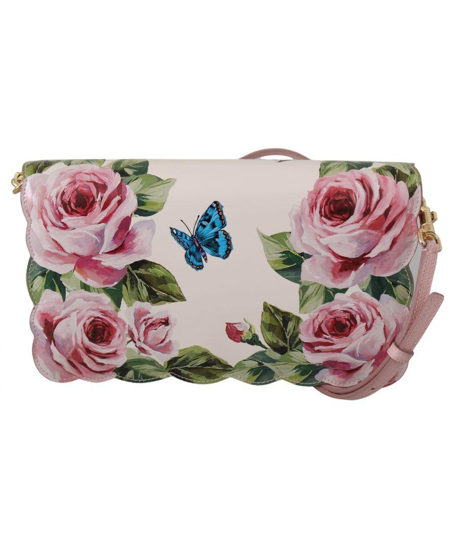 Image for Dolce & Gabbana Black Dotted Adjustable Drawstring Women Nap Sack Bag