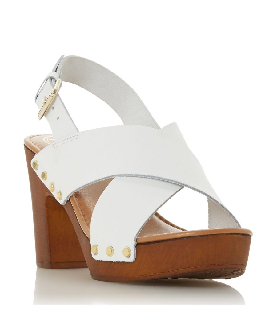 Image for Dune Ladies IMMI Wooden Platform Sandal