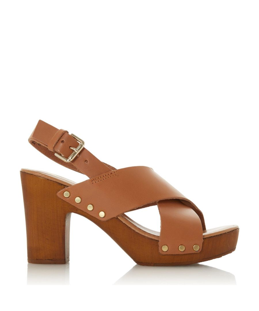 Image for Dune Ladies IMMI Wooden Platform Sandals