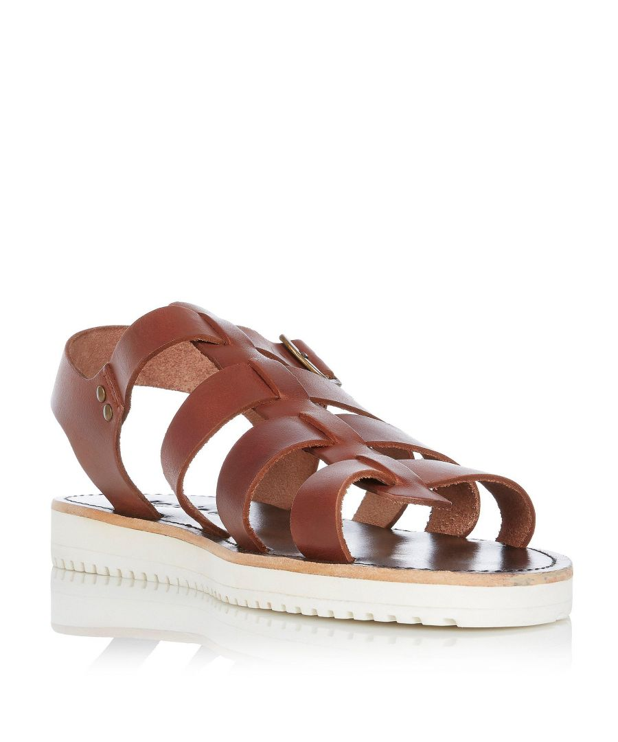 Image for Bertie Mens IMPORT Leather Smart Strappy Sandals