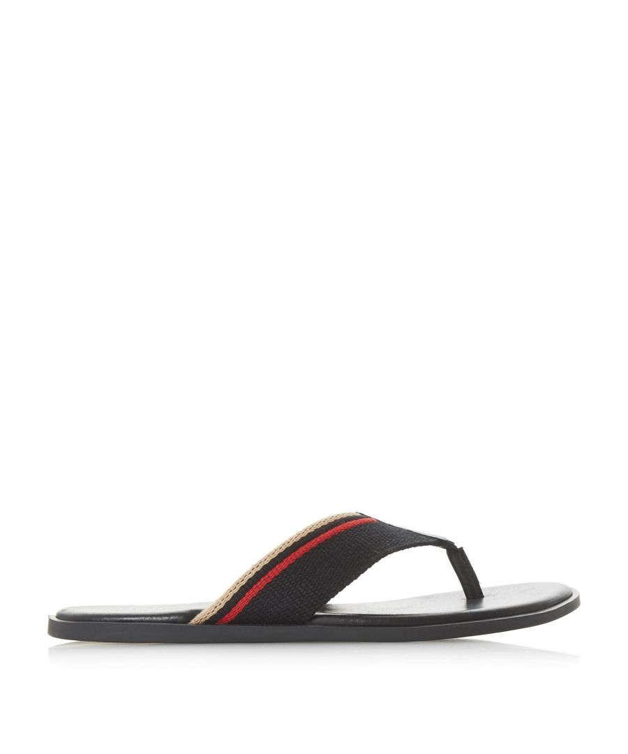 Image for Dune Mens INCOGNITO Toe Post Sandal