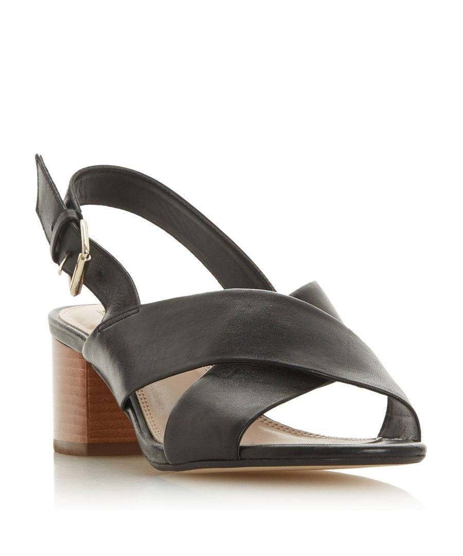 Image for Dune Ladies INDEY Block Heel Sling Back Sandal