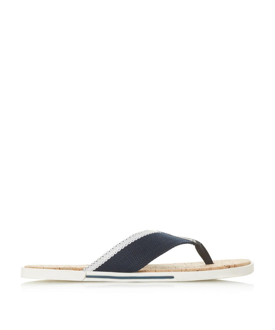 Image for Dune Mens INIESTA Toe Post Sandal