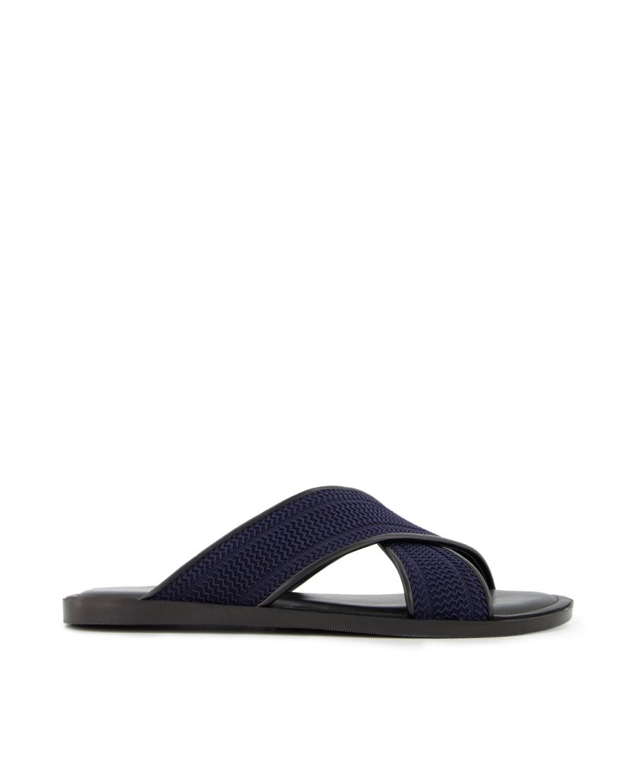 Image for Dune Mens INQUIRE Cross Over Strap Sandals