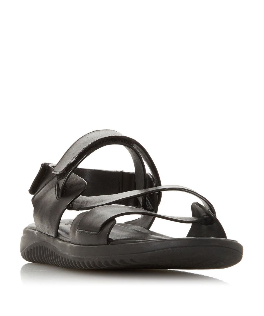 Image for Dune Mens INSTANTLY Leather Chunky Sandal
