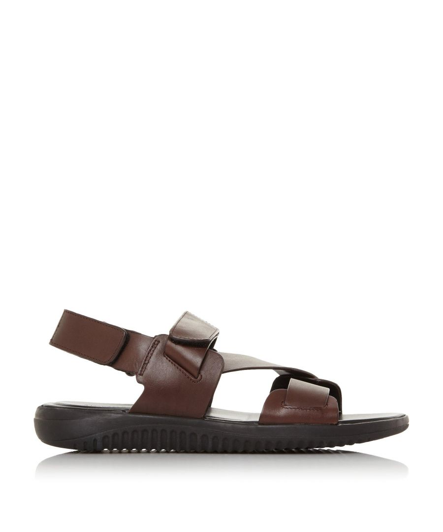 Image for Dune Mens INSTANTLY Leather Chunky Sandals