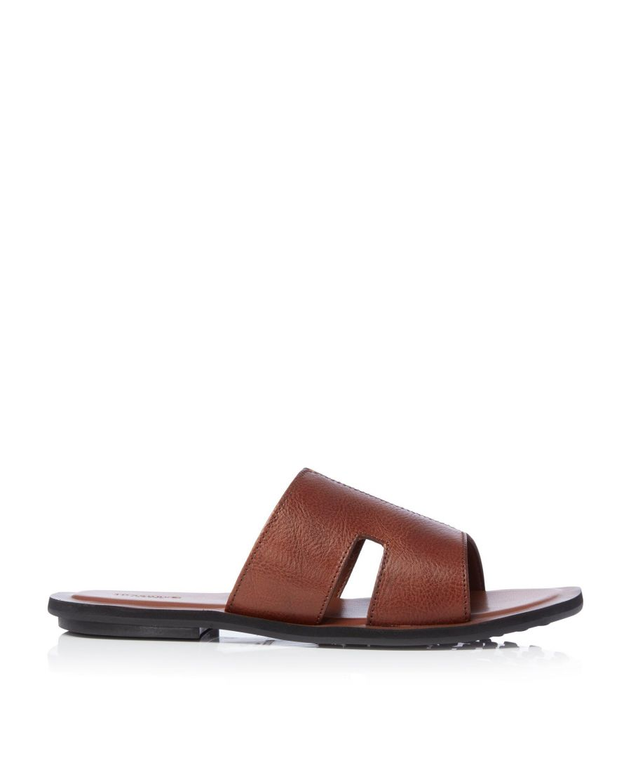 Image for Dune Mens INVOLVER Cut-Out Strap Sandals