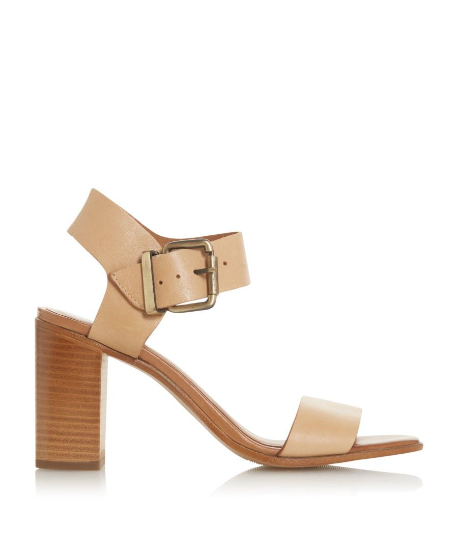Image for Bertie Ladies IRAYA Square Toe High Block Heel Sandals