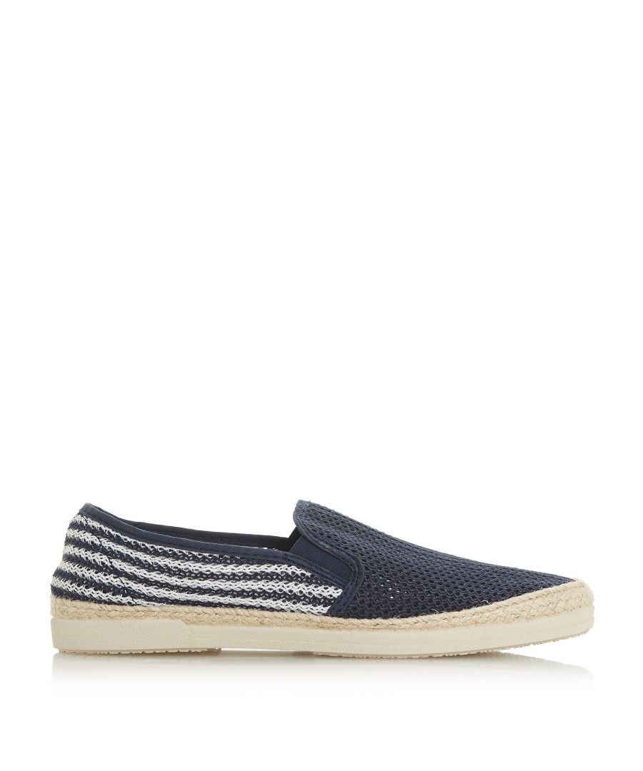 Image for Bertie Mens ISOBAR Mesh Espadrille Shoes